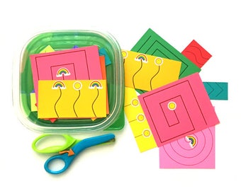 Fun Cutting Activities to Help Toddlers and Preschoolers Develop their Scissor Skills