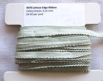 Lettuce Edge Trim  Celery Green 4070