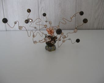 decorative tree of life wire and beads