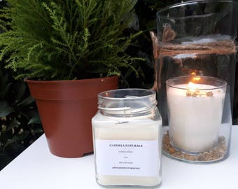 Eco natural candles with essential oils