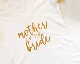 Mother of the Bride, MOB, Mother of the bride shirt, mother tee, bridal party tee, Bridal Party Shirt, Wedding Shirt, Bride Shirt