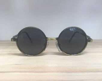 Round vintage sunglasses for narrow face