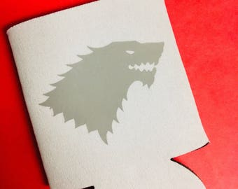 House Stark Can Cooler