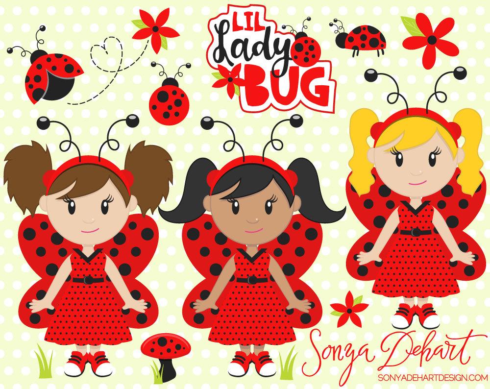Ladybugs Clipart Spring Clipart Ladybug Clipart Lady Bug