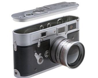 Leica M3 vintage replica camera tin box