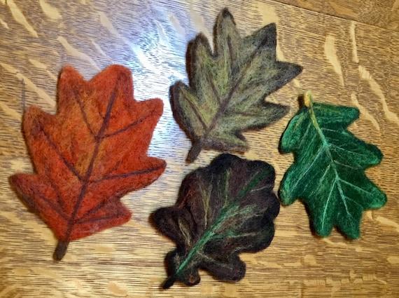 Coasters/ fall leaves/ fall decor