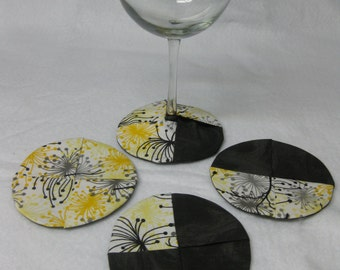 Coasters for wine cup