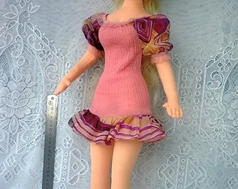 "Little pink dress for any 1/3 bjd & FR 24""/60cm body and similar size doll (Tonner, Sybarite, Avantguards, etc)s"