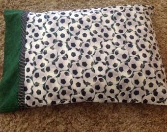 Soccer Pillow Case- Standard Pillow