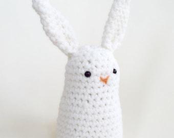Crochet Easter Bunny - Amigurumi - You Choose Color