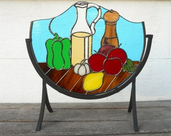 Stained Glass Kitchen Still Life