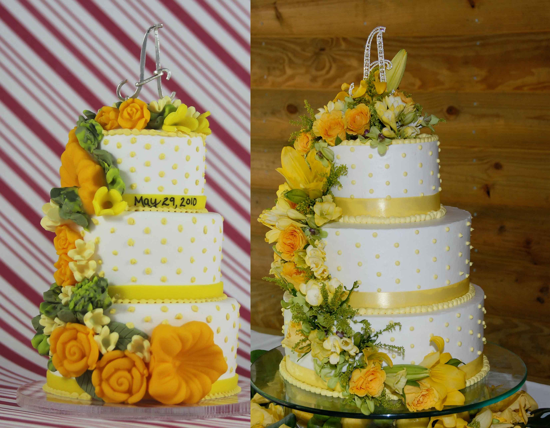 wedding cake replica ornament custom wedding cake ornament