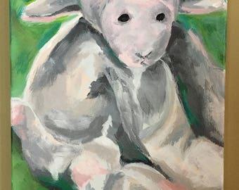 Baba Lamb Acrylic
