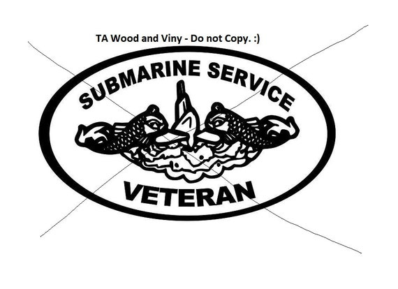 Submarine,  Dolphin Decal, Navy Chief decal, Navy decal, submarine dolphins decal, Submarine decal