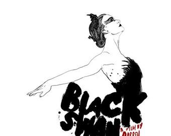 Cartel de la película cisne negro