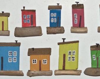 Wooden House Magnet/Magnet