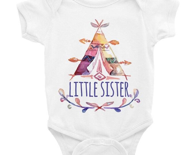 Little Sister onesie, Little Sister, Little Sister Shirt, Sisters Shirts, Little Sister Gift, Baby Shower Gift, Newborn Baby Gift, Baby Sis