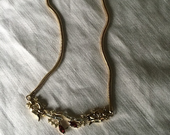 Vintage Trifari Choker Necklace Signed