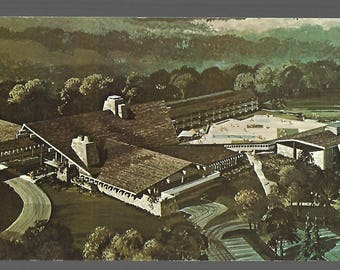 Cambridge Ohio Salt Fork Lodge Department of Natural Resources Postcard