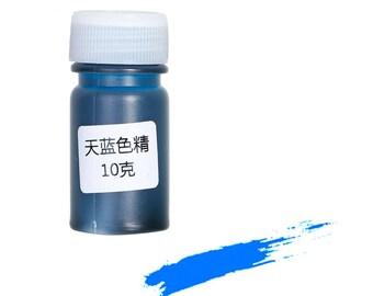 Pigment dye liquid blue 10 Gr for resin molds...