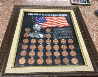 Lincoln memorial coins 1959-1972-S