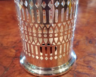 Shefield silver candle holder