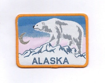 Vintage Alaska Polar Bear Patch