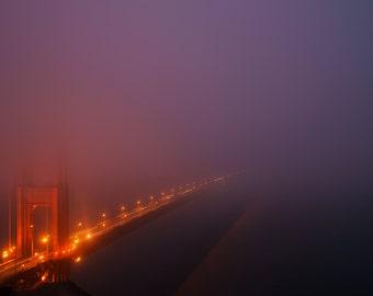 LIMITED EDITION - Misty Gate - Golden Gate Bridge, San Francisco - Fine Art Print - Home Decor
