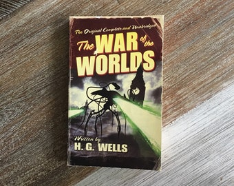 The War of the Worlds by HG Wells (Tor, 1988)