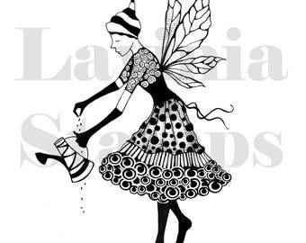 Lavinia Stamps Clear Rubber Stamp - Melodie