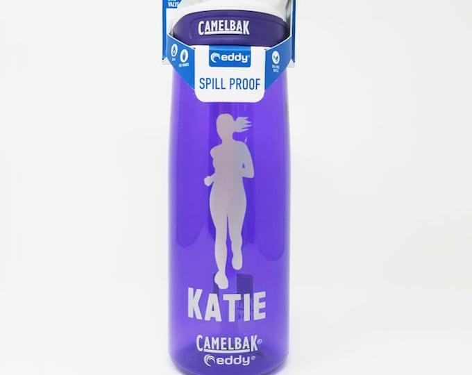 Personalized CamelBak ® Water Bottle-Female, Runner, Bottle, Hydrate, Custom, Bottle, Hydrate, Team, Running,Sports,Cross Country .75L Eddy