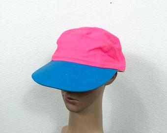 80's vintage neon color cap snapback