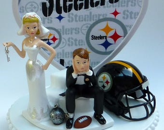 Wedding Cake Topper Green Bay Packers GB Football Themed Ball