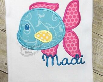 Fishy Fish applique