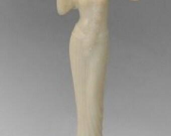 Aladdin Alacite Lady Figural Lamp G16