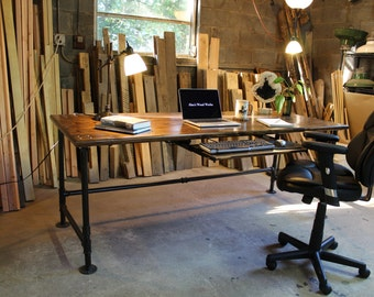 Attrayant Industrial Pipe Desk