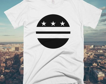 Washington DC Circle Flag T-shirt
