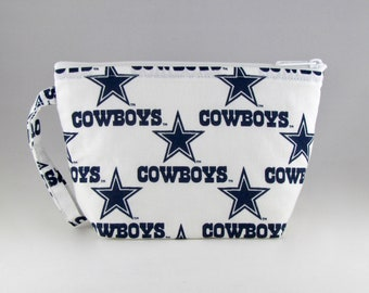 Dallas Cowboys Makeup Bag - Sports Teams - Accessory - Cosmetic Bag - Pouch - Toiletry Bag - Gift