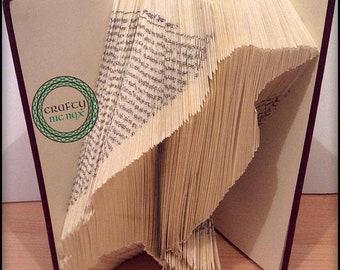 Crow - Raven - Basic Fold Bookfolding Pattern