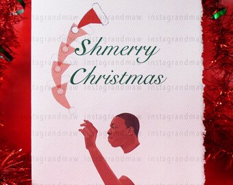Bobby Shmurda Shmerry Christmas Card