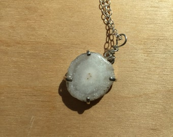 Sterling Stalactite Pendant Necklace