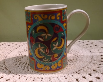 Dunoon Jura celtic knotwork slim mug or cup Scotland