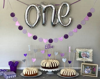 Purple Party Banner