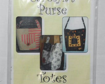 Pattern- Carolyn's Purse -Totes by Sandy #2271