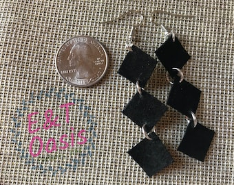 Genuine Suede earrings