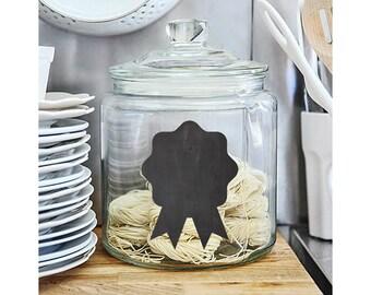 Award Ribbon Chalkboard label –  sticker labels,  labels for jars, kitchen labels, kitchen organization, jar labels, chalkboard tags