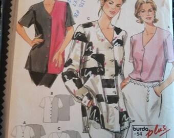 Burda 3205, Women's Blouse Pattern