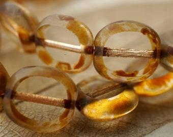 Honey Drops, Czech Beads, Beads, N2000