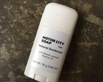 Organic Lavender Deodorant // Natural Deodorant // Aluminum Free // Gifts for Her // Gifts for Him // Deodorant Stick // Shea