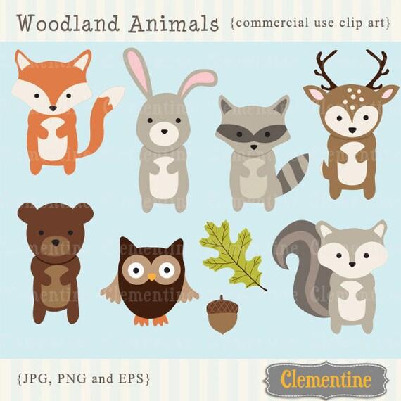 Woodland Animals clip art images fox clip art fox vector